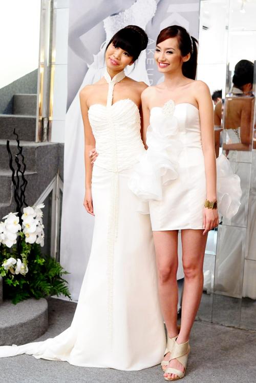 Siêu mẫu Hà Anh và hoa hậu Trúc Diễm